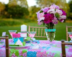 lilly+pulitzer+bridal+shower | visit hwtm com