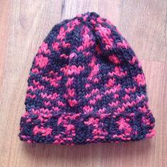 Mütze schwarz neon Glücksfrosch