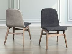 Stuhl dunkelgrau - Esszimmerstuhl - Küchenstuhl - MADOX