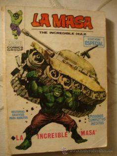 VERTICE MARVEL COMIC TACO VOL. 1 LA MASA Nº 1. 25 PTS. 1970. MUY DIFÍCIL - RQ