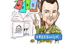 PENtekening: 'Johnny de Mol in Vreeswijk'