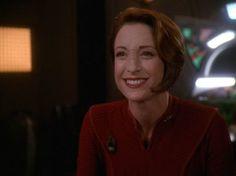 Major Kira Nerys - I love her character development, not to mention her loveliness!