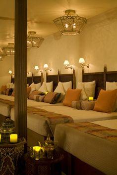 Love the relaxation room at Joya Spa at Montelucia Resort in Scottsdale, AZ