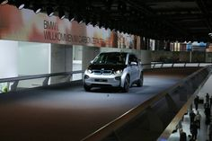 The all new BMW i3, featured at the Frankfurt Motor Show. Photos courtesy BMW. #Frankfurt #BMW #i3 #Motorshow #Cars #FieldsBMW