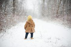 Beautiful winter portrait. Photo by Sarah Graham Photography.