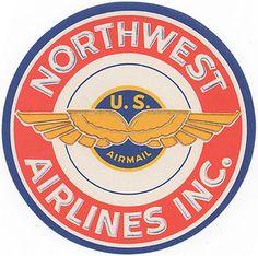 old airline logo