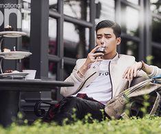 Korean Magazine Lovers (Park Seo Joon - bnt International October Issue...) | via Tumblr