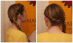Sand Snakes inspired hair - Nymeria