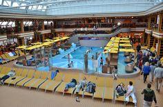 Pool - Pool auf Deck 10,kann im Sommer geöffnet werden