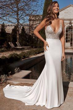 Justin Alexander Bridal Sincerity Bridal Wedding Dresses, Sheath Wedding Gown, Wedding Dressses, Bridal Dresses, Wedding Gowns, Justin Alexander Bridal, Wedding Attire, Wedding Outfits, A Line Gown