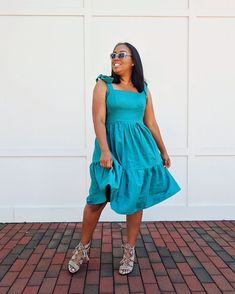 Tiered Dress: One Tutorial/ Three Looks — Tabitha Sewer Summer Dress Patterns, Dress Sewing Patterns, Pattern Sewing, Clothes Patterns, Sewing Clothes, Crochet Clothes, Diy Clothes, Stitching Dresses, Dress Tutorials
