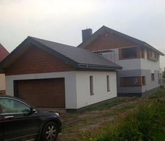 Lugano widok frontu #dom #architektura #budowa
