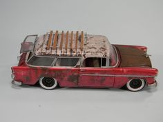 Rat Chevrolet Nomad 1955