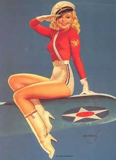 I love 40's pin up girls.  Real Beauty and actually classy