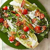 BLT Salad with Buttermilk Dressing - looks amazing and oh so fresh!!