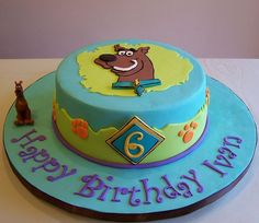 Scooby Doo Birthday Cake Ideas | Scooby-Doo cake by cakespace - Beth (Chantilly Cake ... | cakes