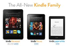 The All-New Kindle Family. October 2012