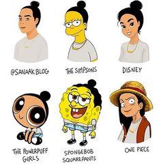 Ein Charakter in unterschiedlichen Zeichenstilen stylechallenge_08