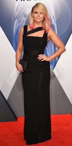 CMA Awards 2015: See All the Best Red Carpet Looks - Miranda Lambert - from InStyle.com