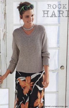 Grey Sweater for Women