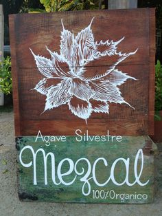 Everado went to Oaxaca and brought back Mezcal:) come have shot with us!