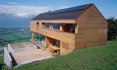 Haus/Grafikbüro Beck-Söllner   Planken,  Liechtenstein   Cavegn architektur