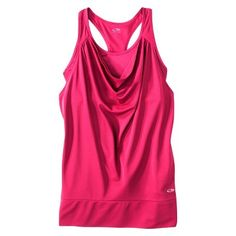 C9 by Champion Womens Cowl Neck Layered Tank Pomegranate L on PopScreen