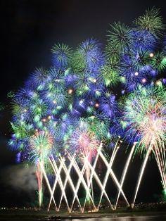 Fireworks, Nagaoka, Niigata  長岡花火大会