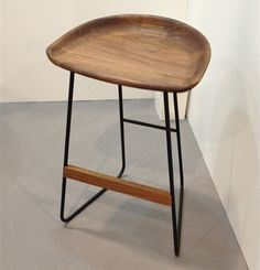 Counter stool by Shawn Place Designs. Spotted at IDS12. | Photographer Margot Austin