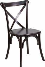 Hercules Series Walnut Wood Cross Back Chair. Flash Furniture, 11/05/15
