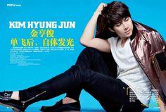 Kim Hyung Jun en la revista NEW ICON FOR HIM