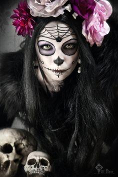 Dia de los Muertos by ~LilifIlane on deviantART