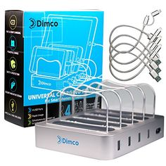 DIMCO Universal USB Charging Station   Multi USB Charger and Stand (4-Port) Organizer for Fast and Powerful charge Smartphones, Tablets, Mobile Devices   Smart, Rapid Charge   Portable Home, Office  https://topcellulardeals.com/product/dimco-universal-usb-charging-station-multi-usb-charger-and-stand-4-port-organizer-for-fast-and-powerful-charge-smartphones-tablets-mobile-devices-smart-rapid-charge-portable-home-office/  ★ ULTRA FAST CHARGING HUB – An adaptive multiple