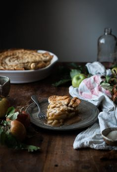 Brown Butter   Maple Caramel Apple Pie - The Kitchen McCabe