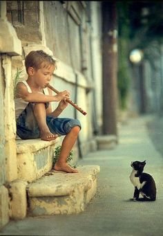 Little Pied Piper :)
