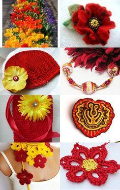 Tulips by Brenda Crochet by BeBe