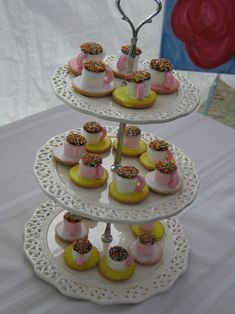 Tea Party Sandwiches | Are these not the sweetest little treats you ever did see? Rosey and ...