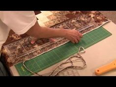 Video on: Squaring Up Your Quilt.
