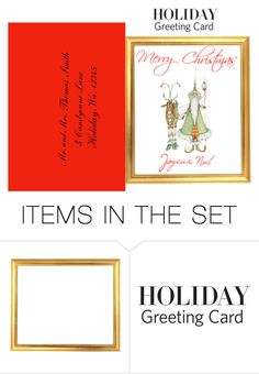 """""""Untitled #1459"""" by pondj ❤ liked on Polyvore featuring art and holidaycard"""
