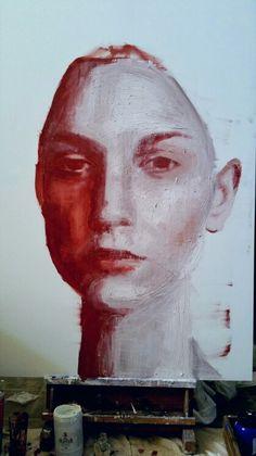Portrait Gravy, Collage, Portraits, Paintings, Drawings, Artwork, Art, Self Portraits, Oil On Canvas