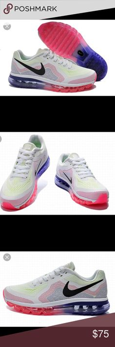 2014 Women's Nike Air Max These are stock photos until I can get home to take pictures of the actual shoe. I have taken great care of these and they look almost brand new! Nike Shoes Sneakers
