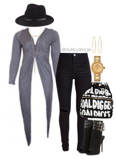 """Untitled #3214"" by stylebydnicole ❤ liked on Polyvore featuring New Look, rag & bone, Giuseppe Zanotti, Versace and Brooks Brothers"