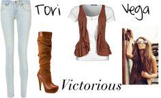 """""""Tori Vega"""" by hallieandkickline ❤ liked on Polyvore"""