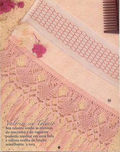 MACRAMÉ: decorar toallas con esta técnica « Variasmanualidades's Blog