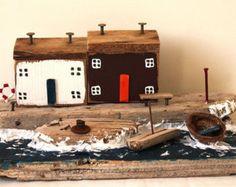 Casa de madera, ondas