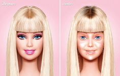 Think of barbie without makeup when you are having a bad day. barbie-no-makeup-1.jpg
