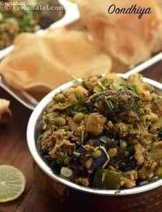 86 raw banana recipes   Tarladalal.com Banana Recipes Indian, Vegetable Dishes, Indian Food Recipes, Undhiyu Recipes, Vegetarian Recipes, Snack Recipes, Cooking Recipes, Marinated Vegetables