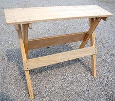 folding braiding bench (diy project?)