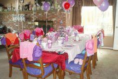 Little girls birthday party