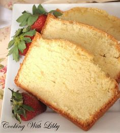 Cooking With Libby: Grandmother's Pound Cake